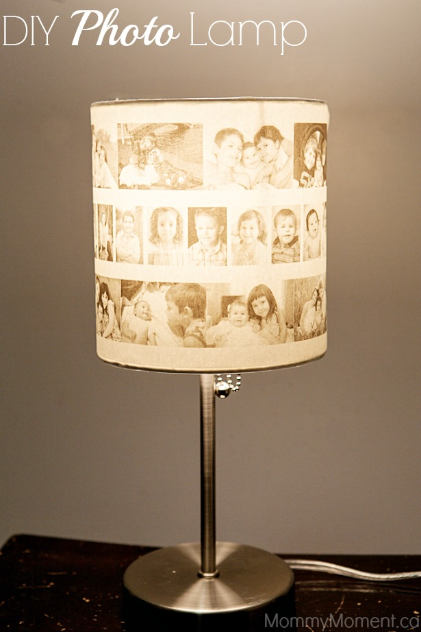 Diy photo lamp