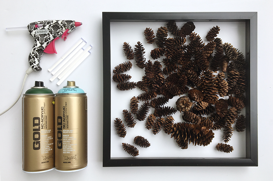 Diy pinecone wreath 7