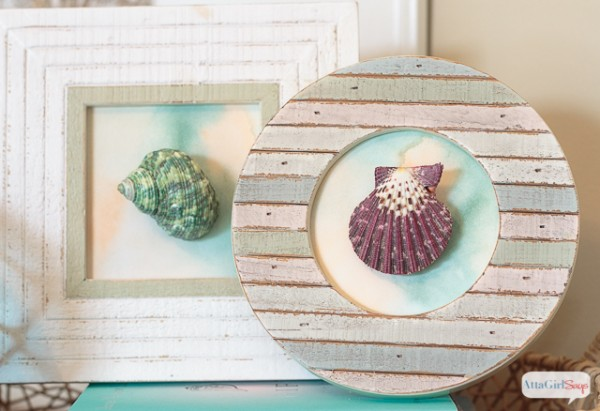 Diy seashell art