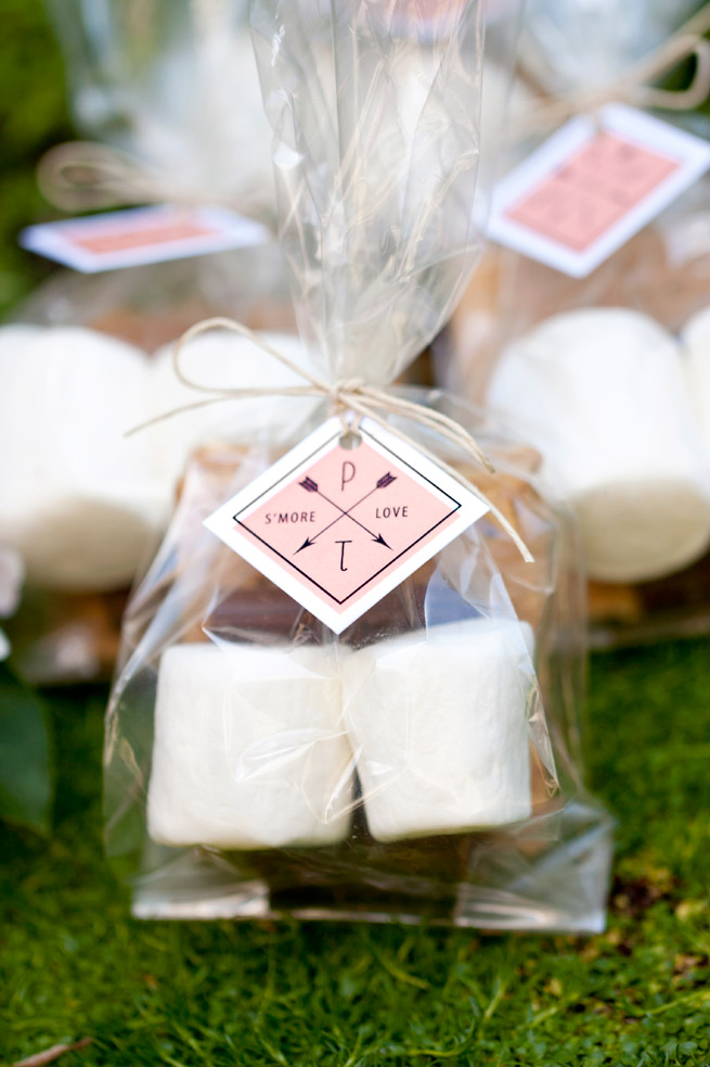 diy smores kits favors