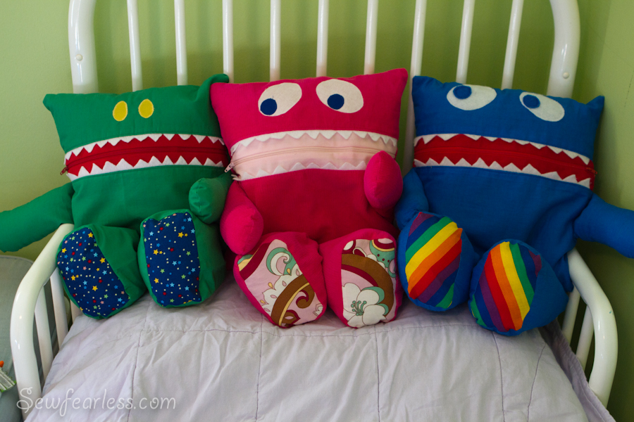 Diy stuffed monster dolls