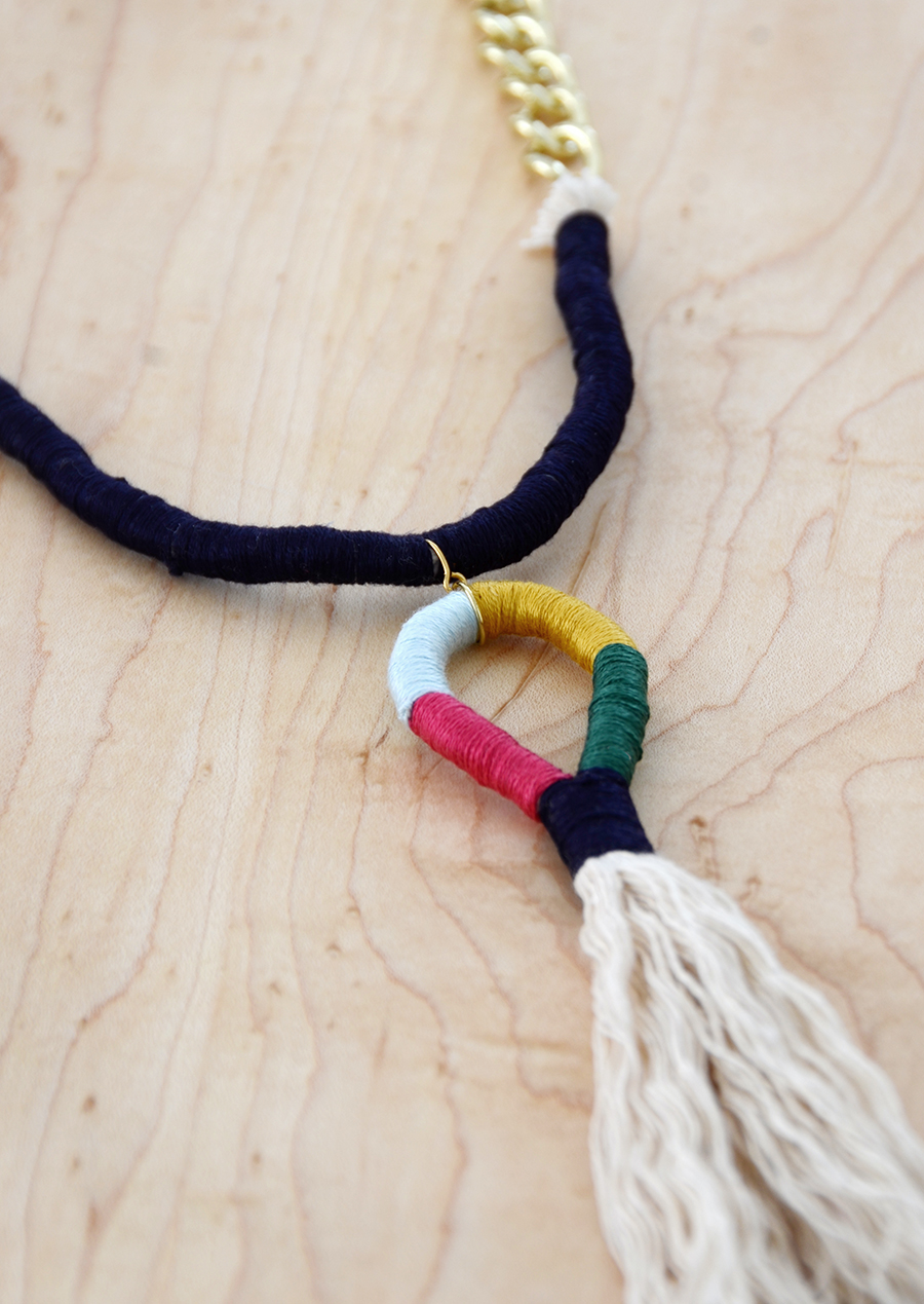 Diy tassel necklace final 4