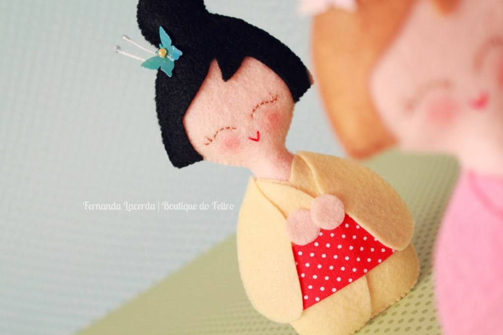 Diy japanese inspired dolls