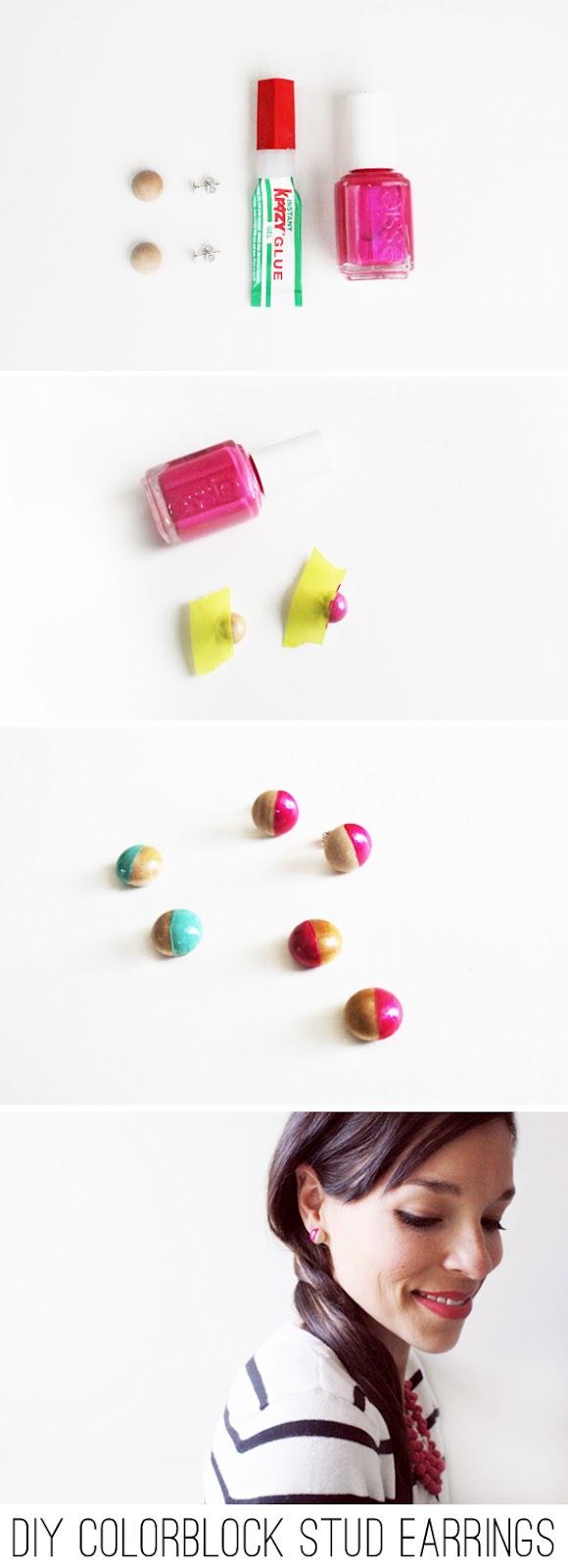 Diy nail polish studs