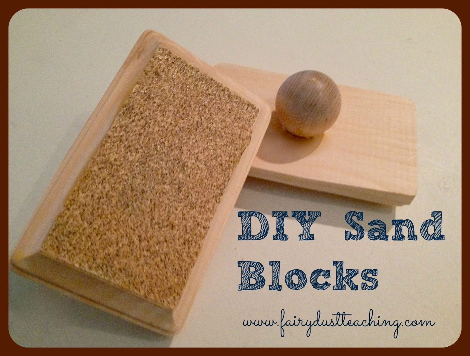 Diy sand block instrument