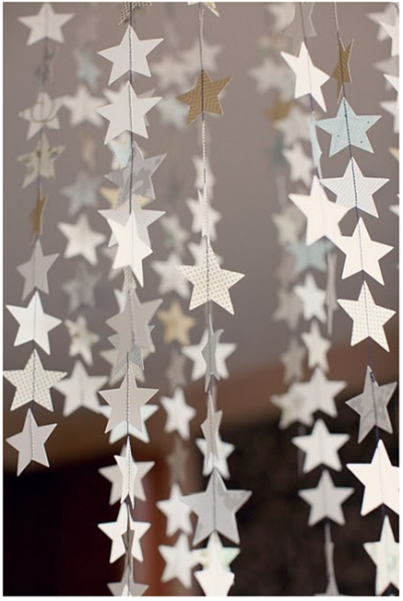 Hanging star mobiles