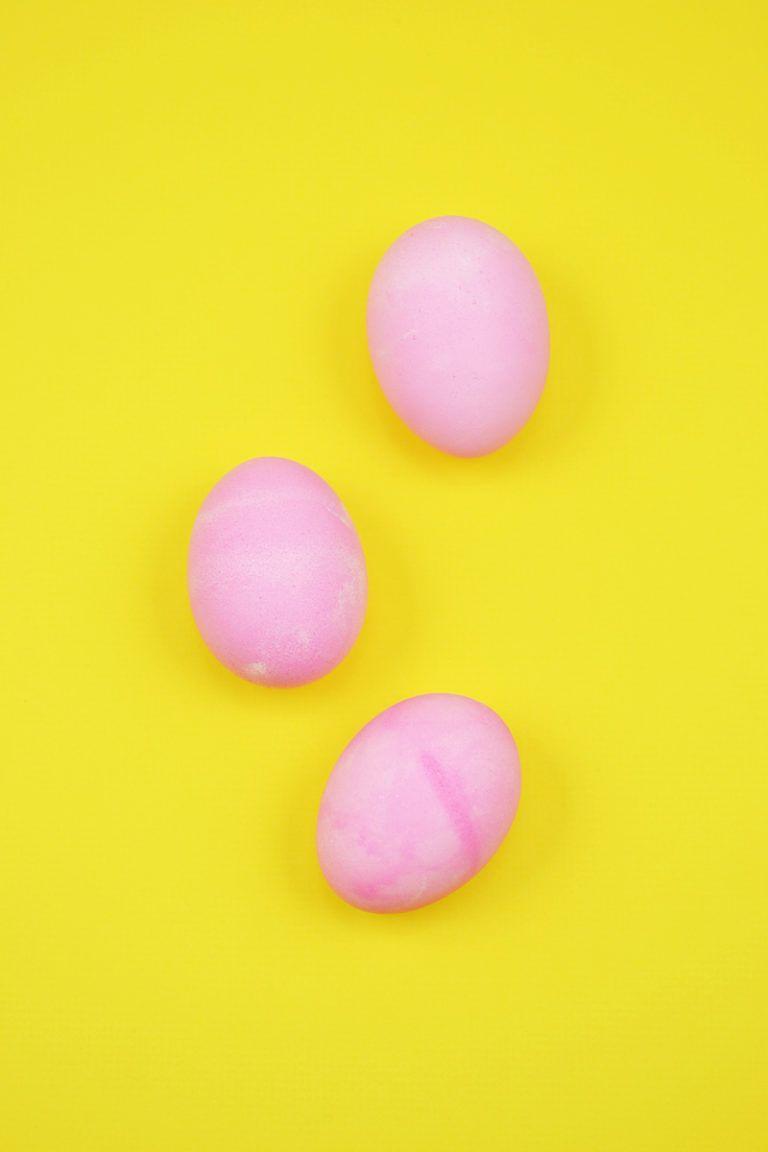 How to make easter egg magnets for kids