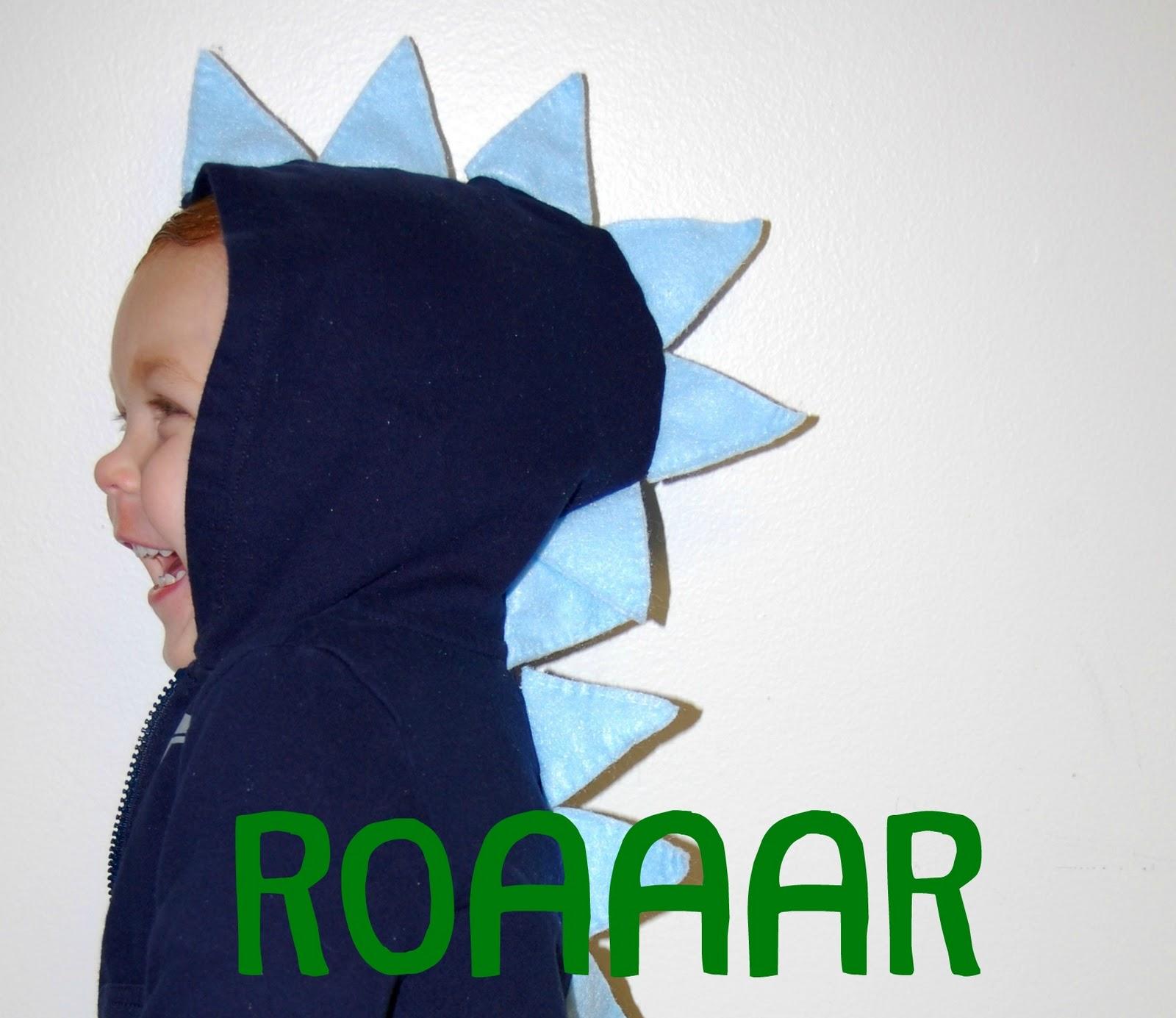 Kids' dinosaur hoodie