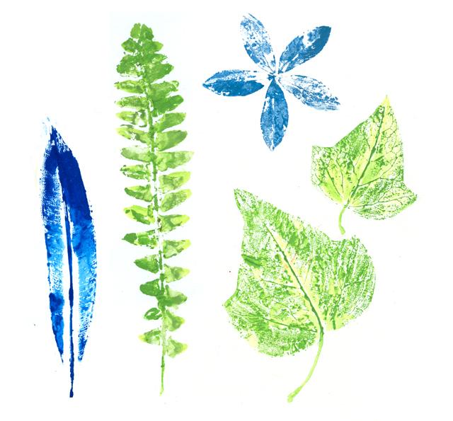 Leaf printings
