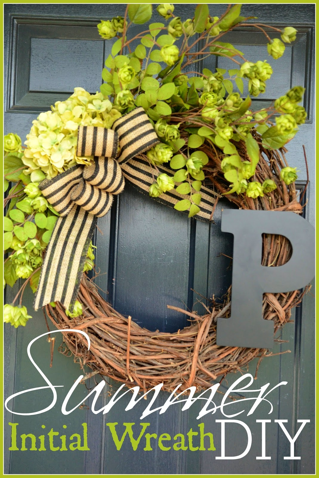 Summer initial wreath title page stonegbleblog com