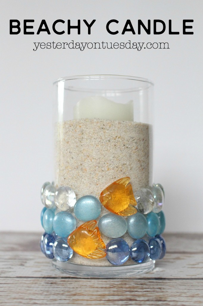Sand candle votice