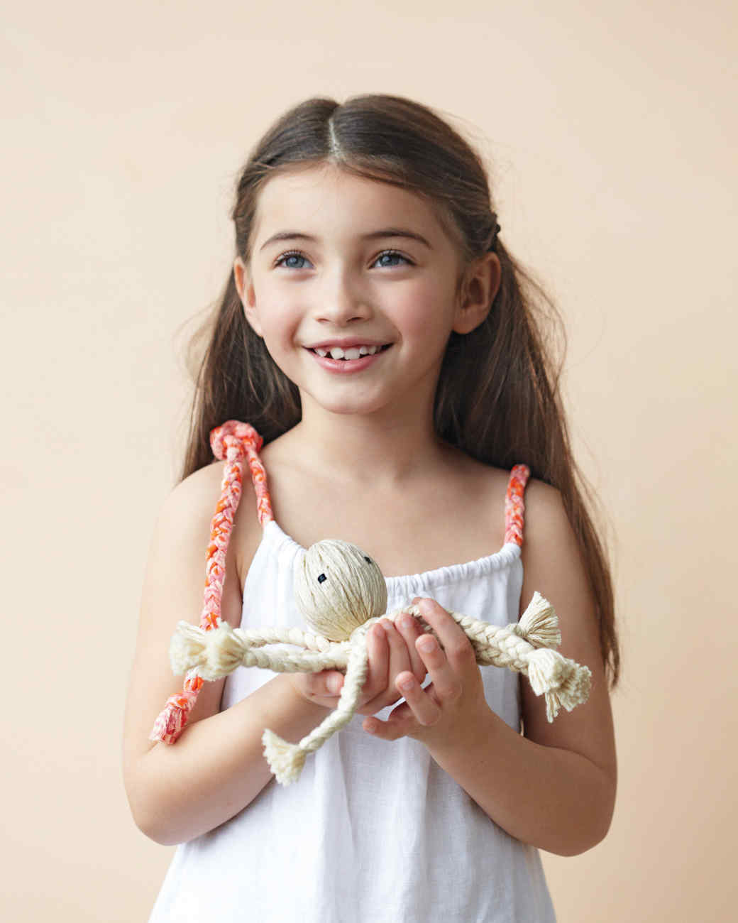 Diy braided octopus doll