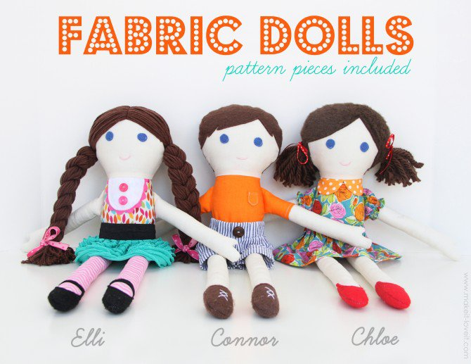 Diy fabric dolls