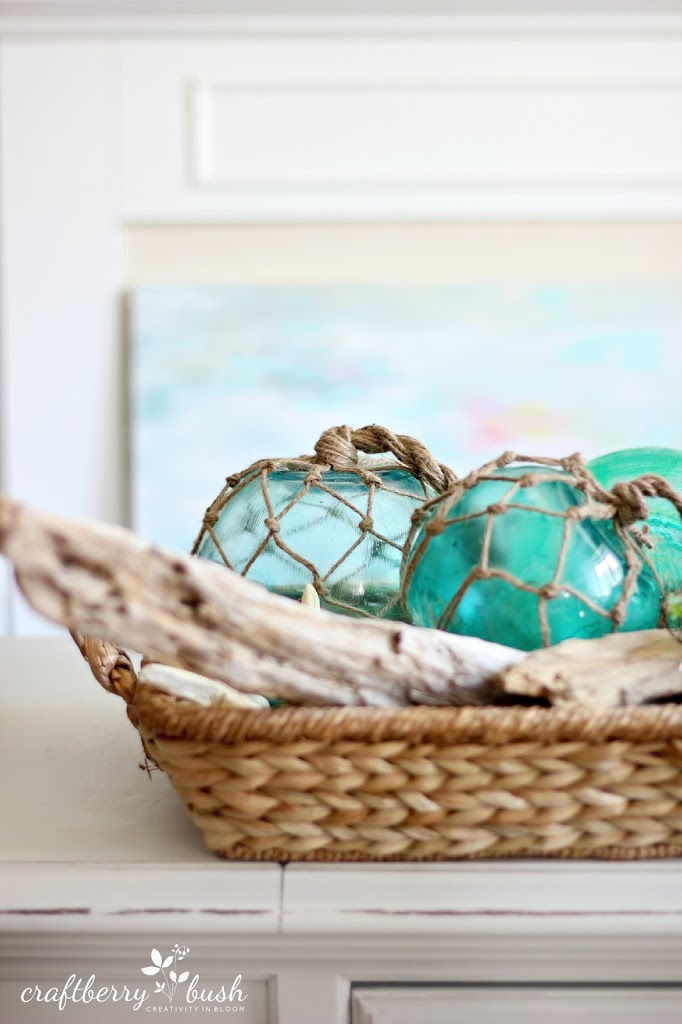 Diy sea glass buoys