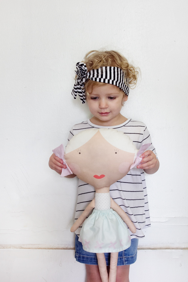 Fabric dolls diy
