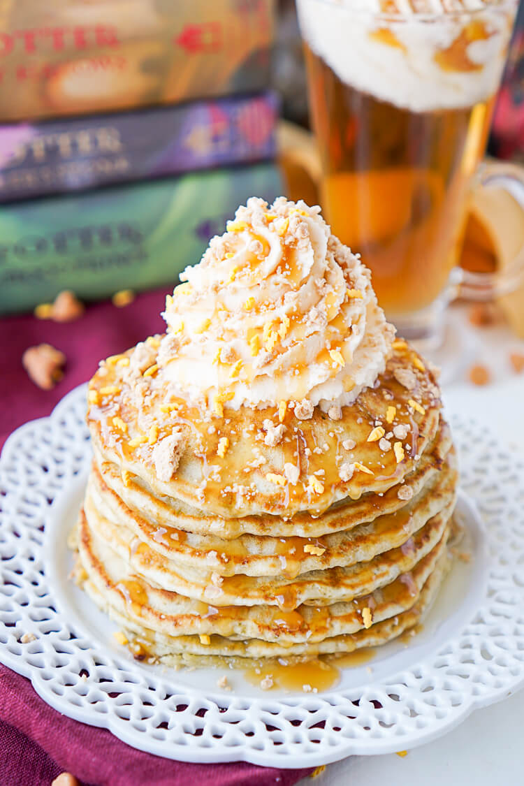 Harry potter butterbeer pancakes recipe