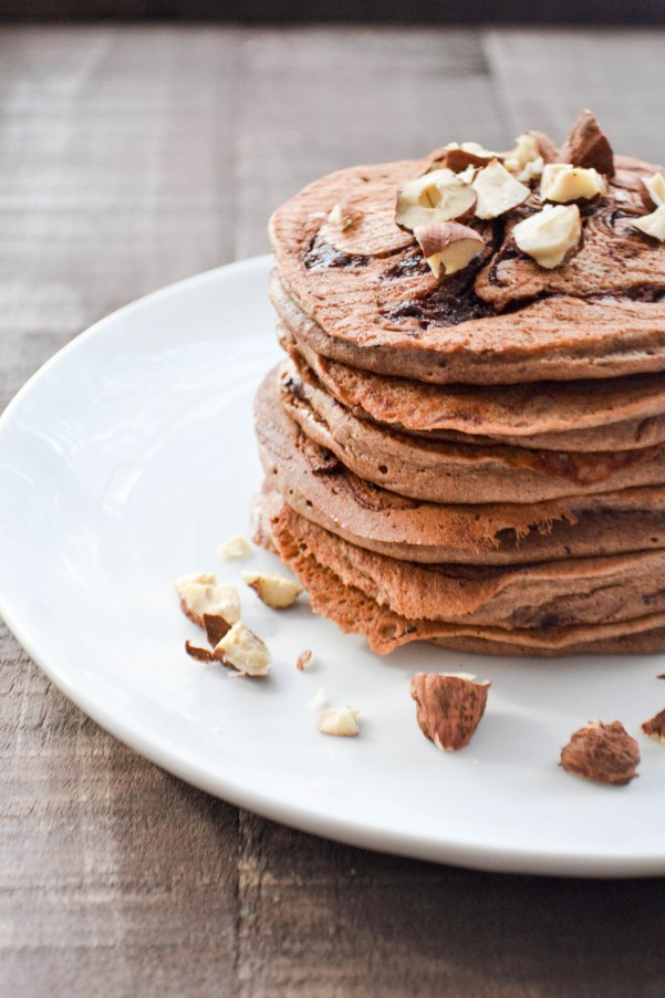 Hazelnut pancakes recipe