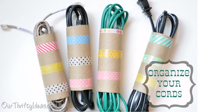Organize your cords diy