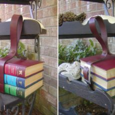 Books belt storage