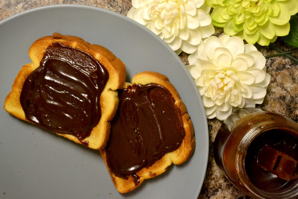 Bread chocolate spread recipe