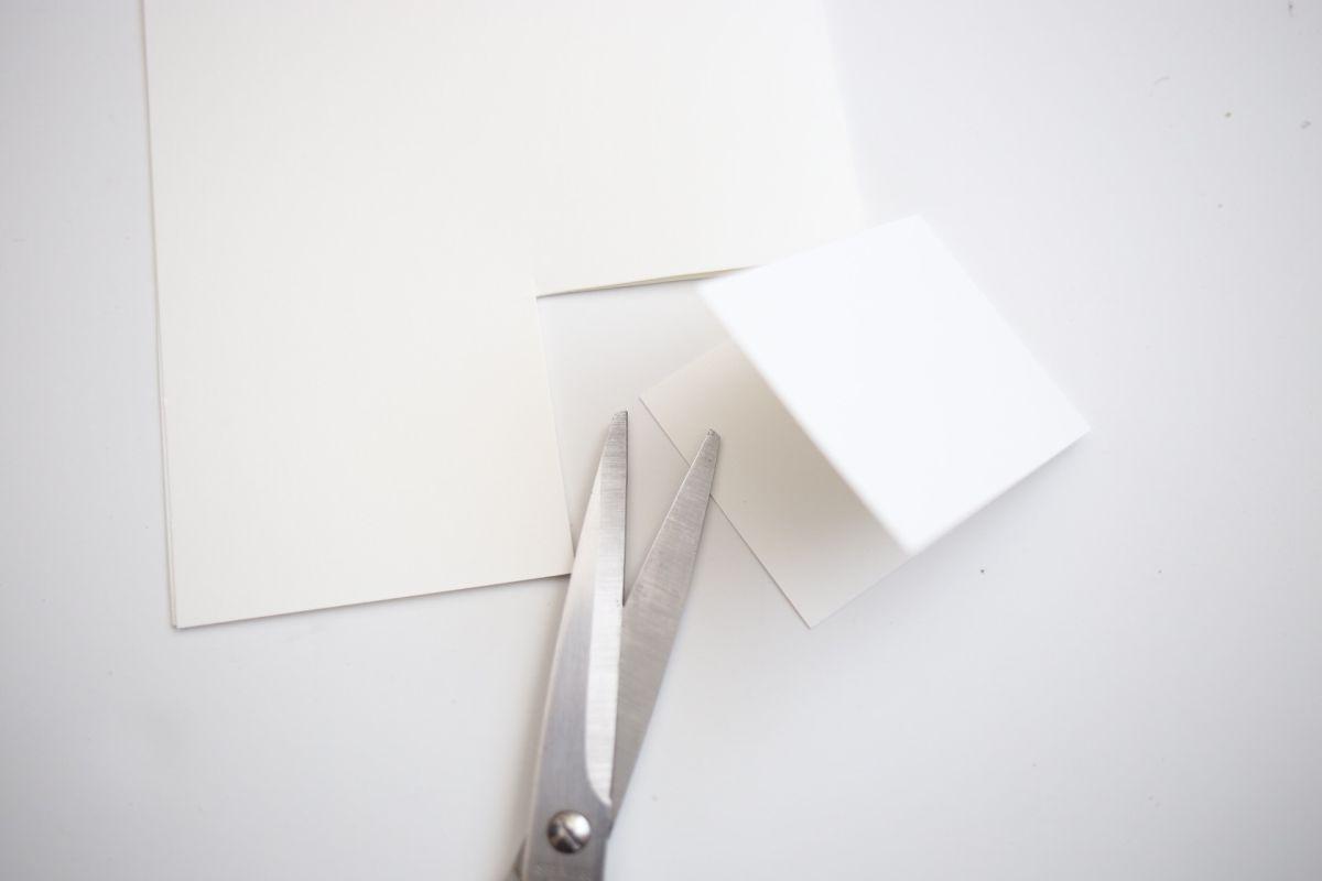 Diy crystal quartz planter paper