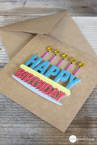 Diy greeting cards happy birthday