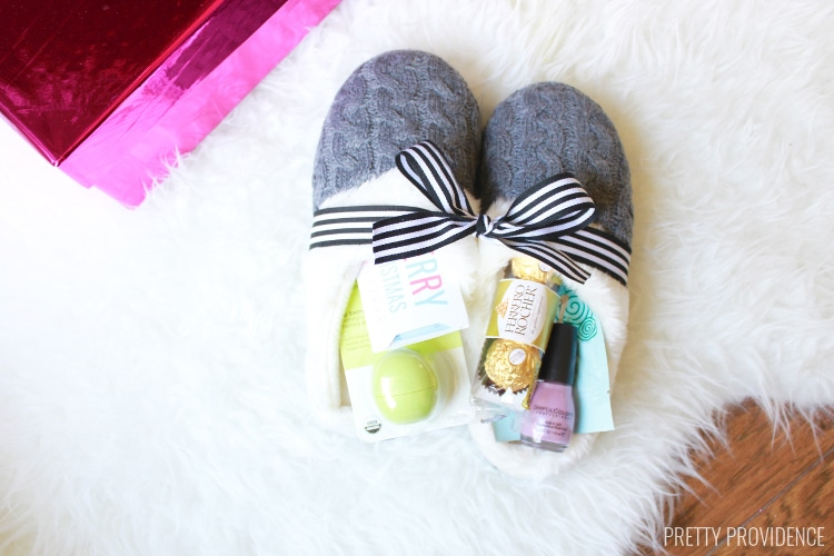 Diy just relax gift basket