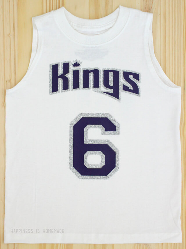 Diy sacramento kings sports team basketball shirt