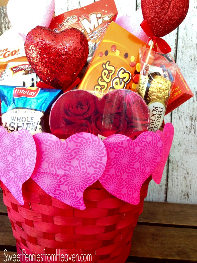 Diy valentine's day candy bouquet