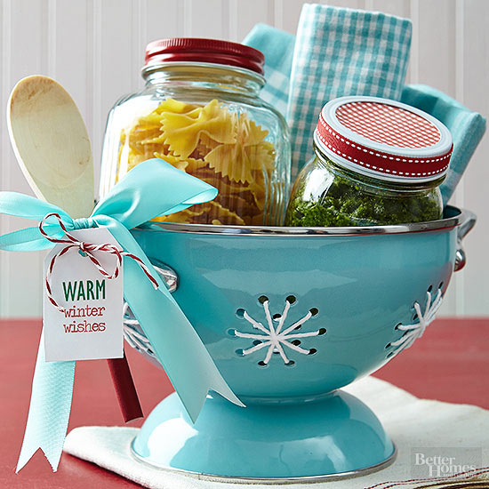 Diy easy dinner gift basket