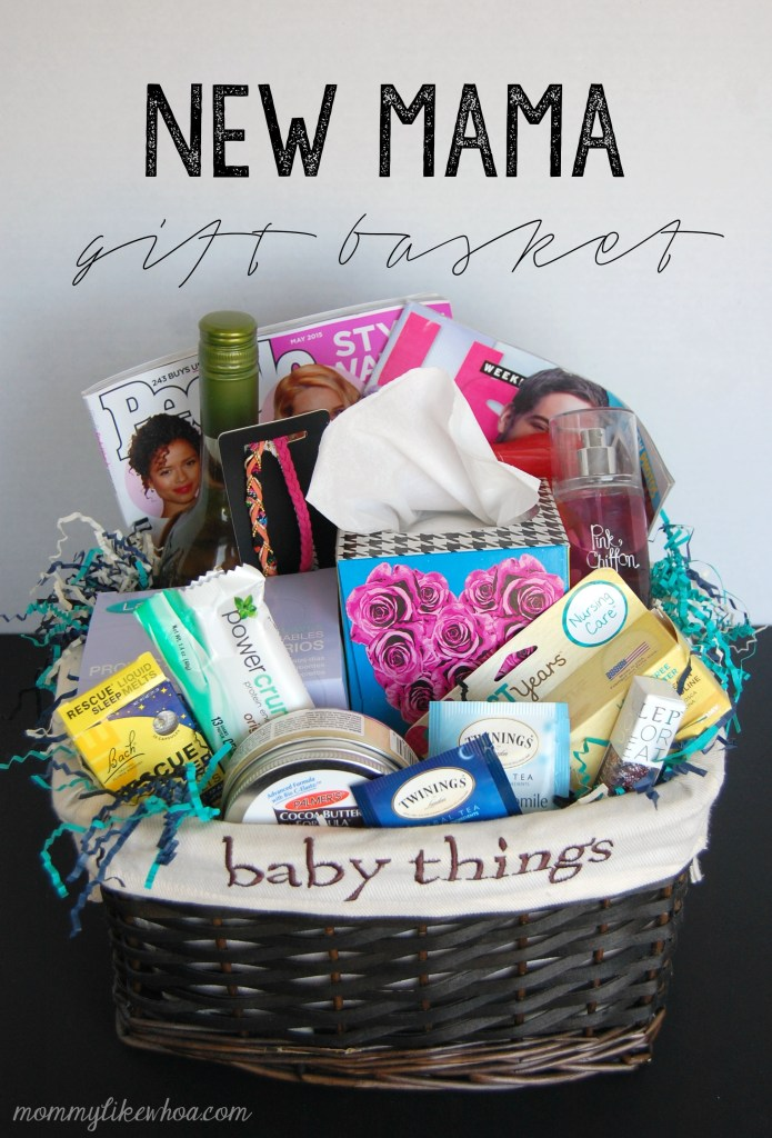 Diy new mom gift basket