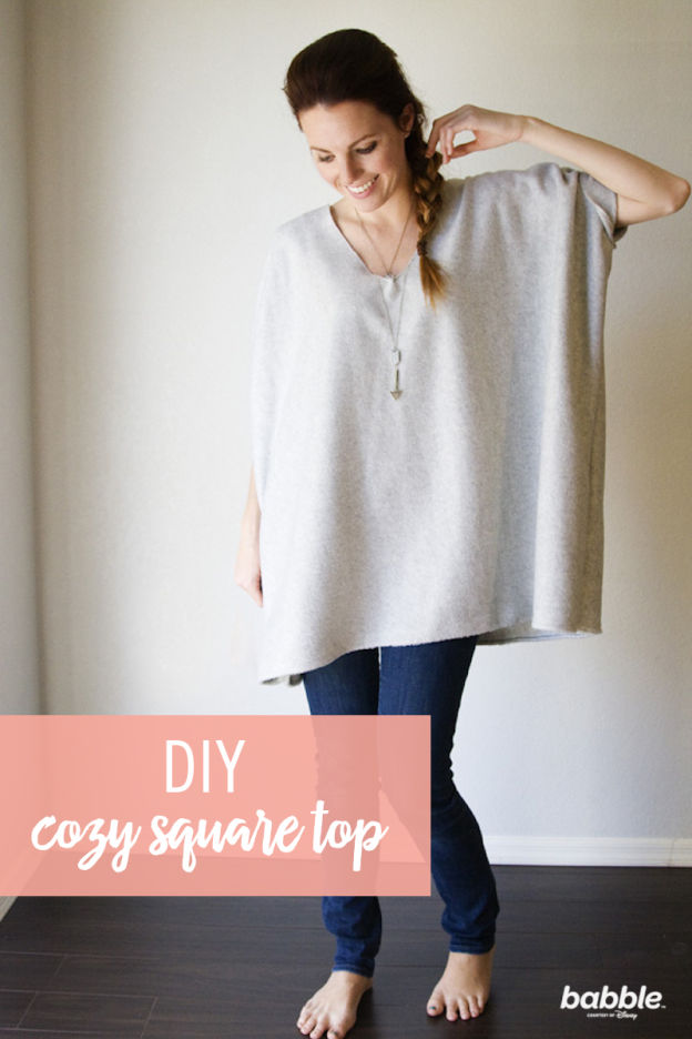 Diy square top