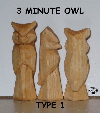 Easy 3 minute owl