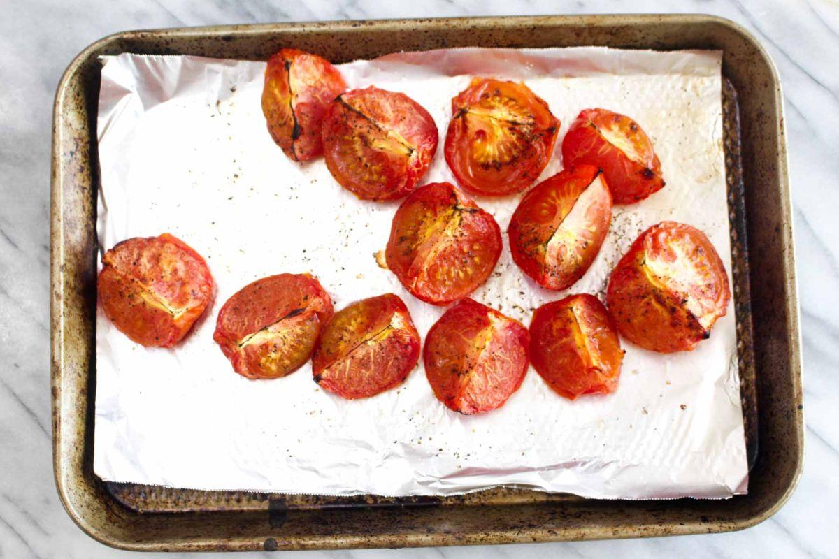 Homemade salsa roja high broil
