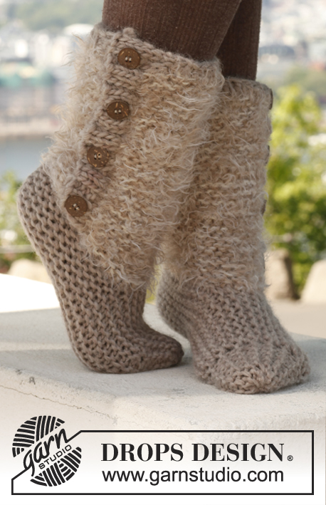 Moscow slipper boots
