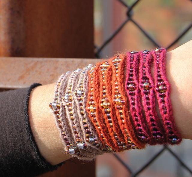 Mudra cuff wrap bracelet