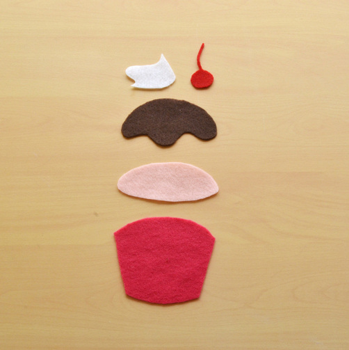 No sew felt air fresheners create