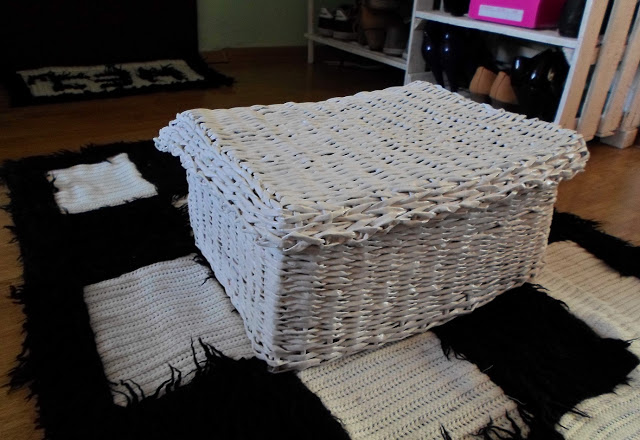 Paper wicker diy box