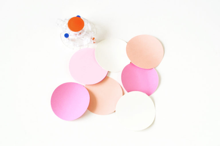 Party confetti wall rounds