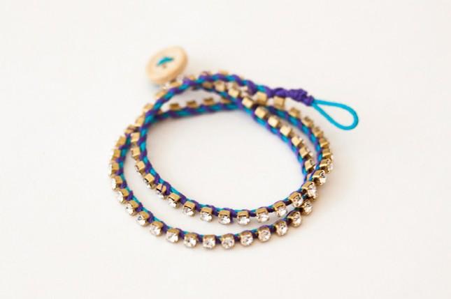 Rhinestone cowgirl bracelet