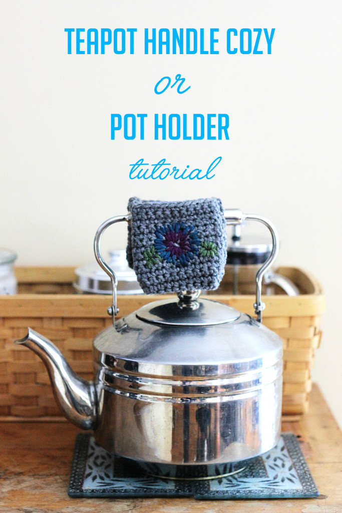 Teapot handle cozy