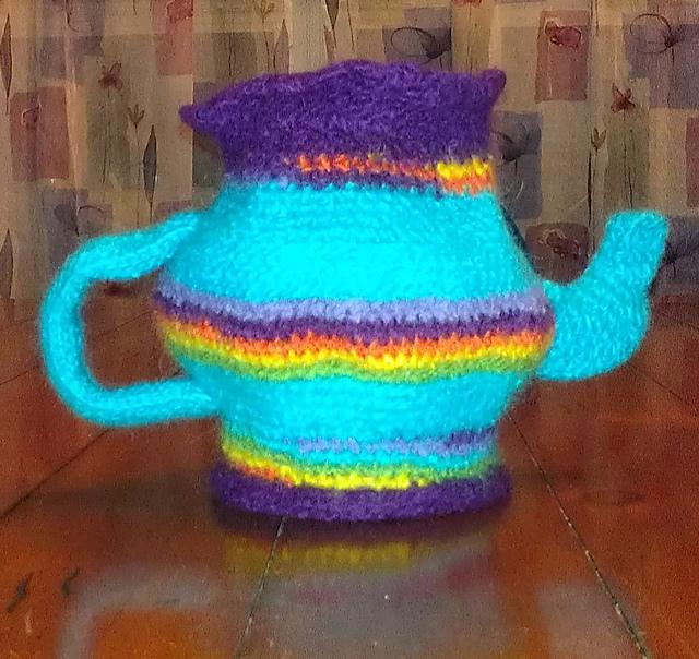 Teapot teak keeper
