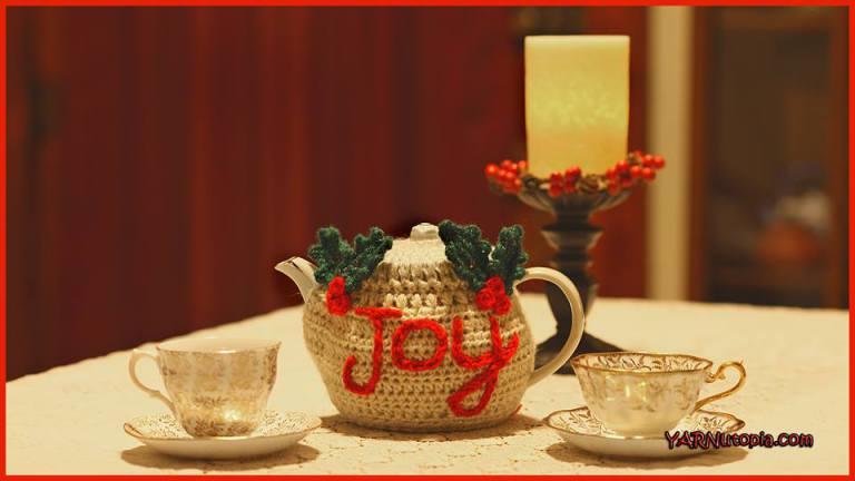 The joyful teapot cozy
