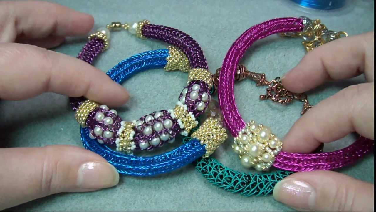 Knitting With Beads Instructions : Helpful beaded knitting tutorials