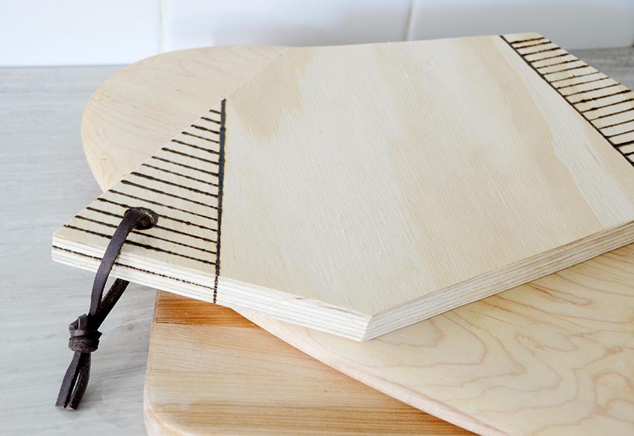 Wood burned serving board 10