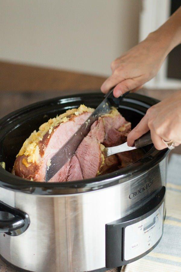 Brown sugar ham recipe
