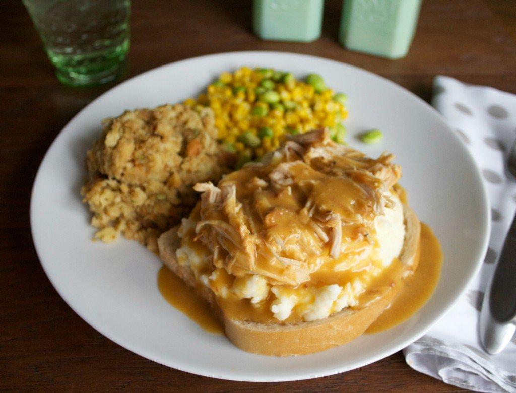 Chicken and gravy dump recipe