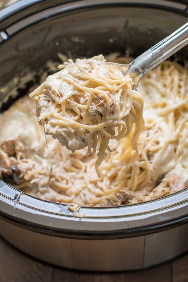 Chicken tetrazzini dump recipe