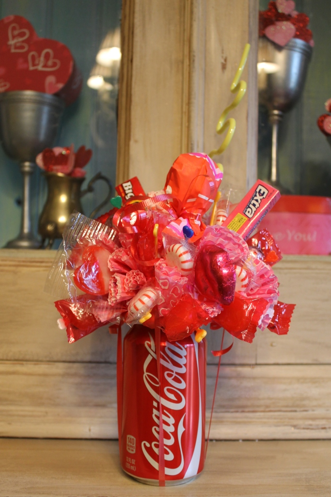 Coke candy bouquet diy