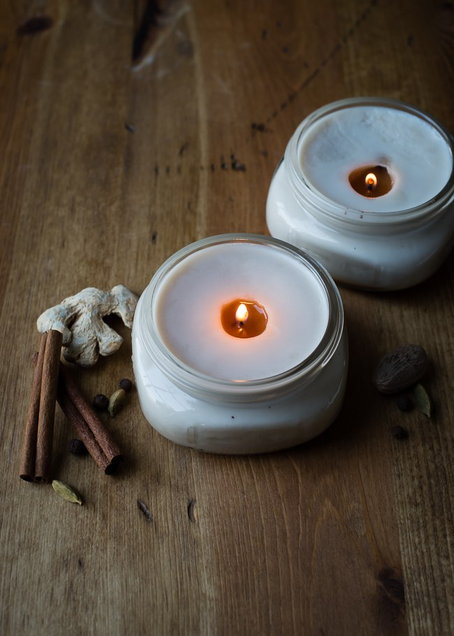Diy chai candles
